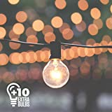 Outdoor Lighting Store 50ft Black String Lights