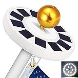 GRDE 30 LED Flag Pole Lights