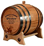 Sofia's Findings Custom American White Oak Aging Barrel