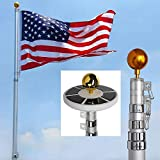 Megabrand Telescopic Aluminum Flagpole