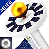 Totobay solar flag pole light