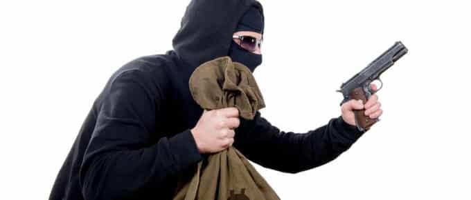 Burglary vs Robbery vs Larceny