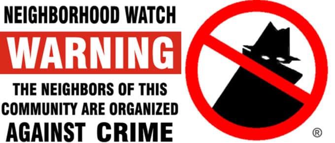 Neighborhood Watch Programs