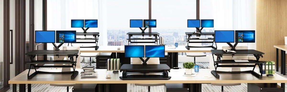 Best Standing Desk Convertors 2019 – Reviews And Buyer's Guide